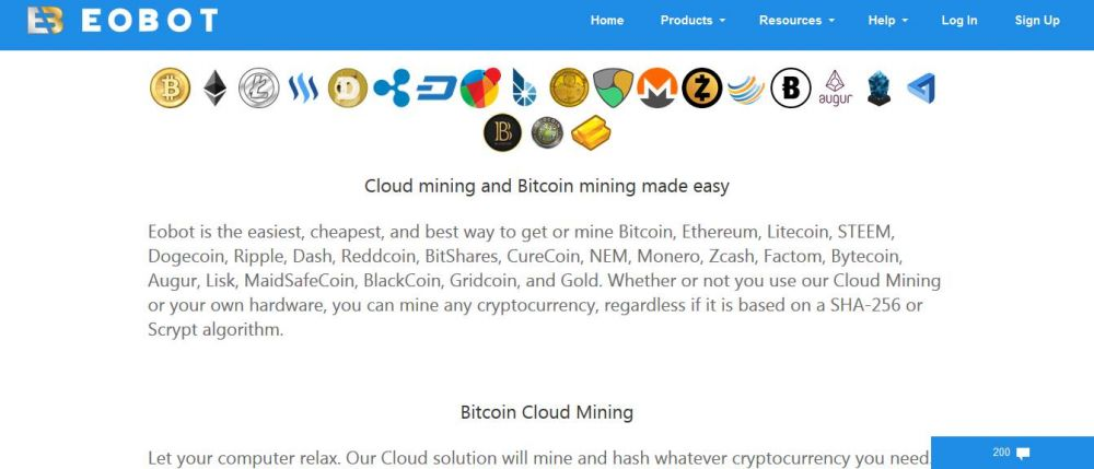 Eobot com Review - Best Cloud Mining - Bitcoin & Crypto