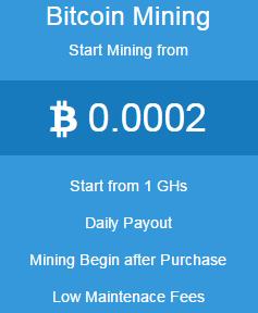 Bitminer Bitcoin mining price