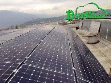 Bitminer solar