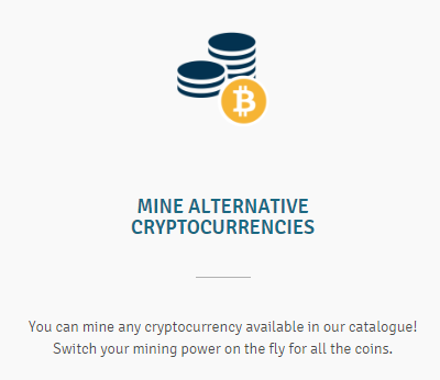 Mining multiple altcoins at the same time at Genesis Mining