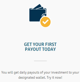 Daily payout at Genesis Cloud Mining