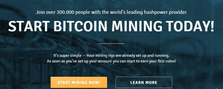 Start cloud mining at Genesis Today
