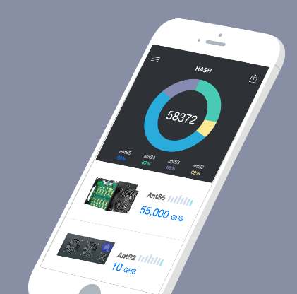 Hashnest App for iOS and Android