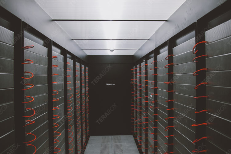 Terabox farm - the server room